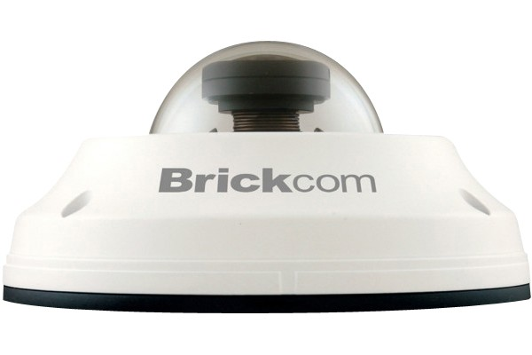 M056059                  -BRICKCOM CAMERA DOME IP FISHEYE EXT ANTIVAND 360°
