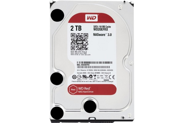 M091071                  -DD 3.5'' SATA III WESTERN DIGITAL Red - 2To