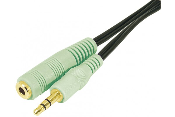 M108870                  -CORD.ST.OUT JACK3.5M/F PC99 3M
