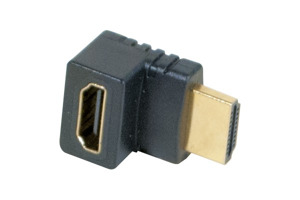 M128301                  -ADAPTATEUR HDMI  OR M/F COUDE 90° - MODELE B