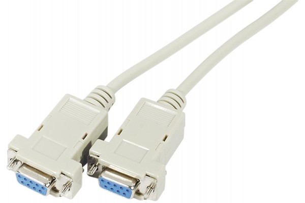 M136010                  -CABLE NULL MODEM DB9F/F 3M
