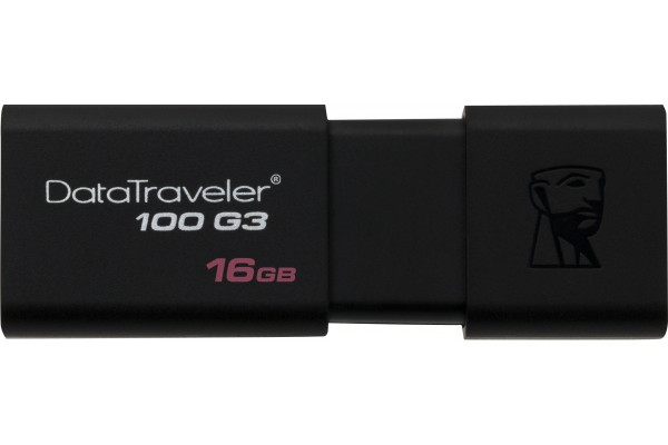 M168519                  -CLE USB 3.0 KINGSTON DataTraveler 100 G3 16Go