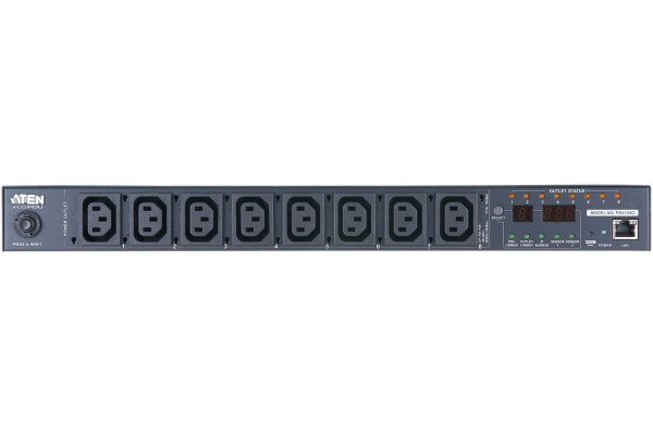 M268108-ATEN. PE8108G PDU MULTIPRISE IP 8xC13 Switch et mesure