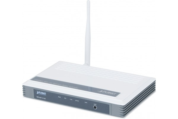 M411110                  -PLANET WNAP-1110 POINT D'ACCES WIFI 11n 150MBPS PoE Passif