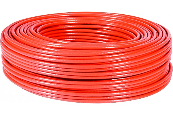 M811262-CABLE F/UTP CAT6 MULTIBRIN Rouge 100M