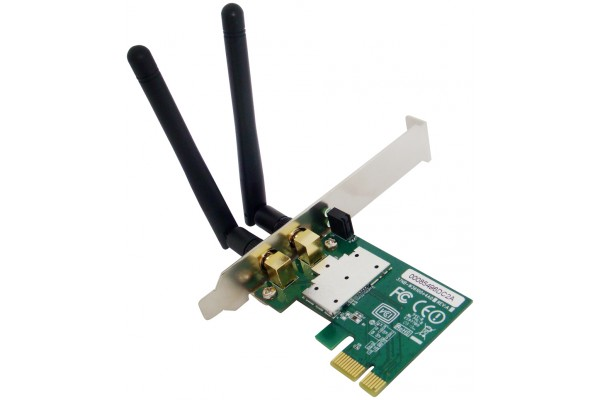 M896900-CARTE PCI EXPRESS WIFI 11N 300MBPS + LOW PROFILE