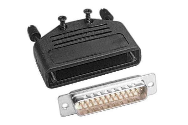M904401-KIT CONNECTEUR A SOUDER SUBD25 M