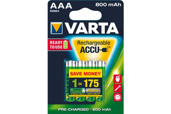 M958499-VARTA Batteries 56703101404 HR03 / AAA blister de 4