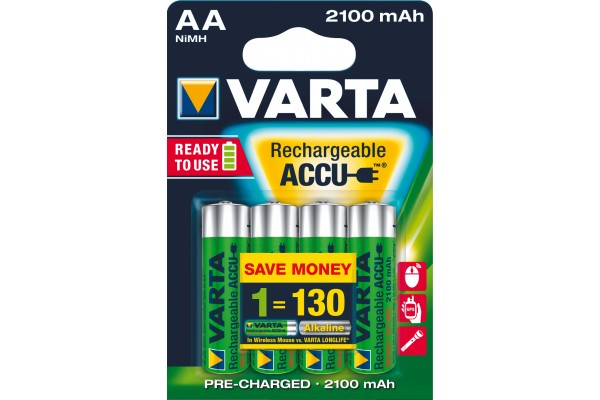 M958500                  -VARTA Batteries 56706101404 HR06 / AA blister de 4