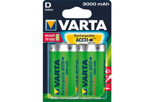 M958502-VARTA Batteries 56720101402 HR20 / D blister de 2
