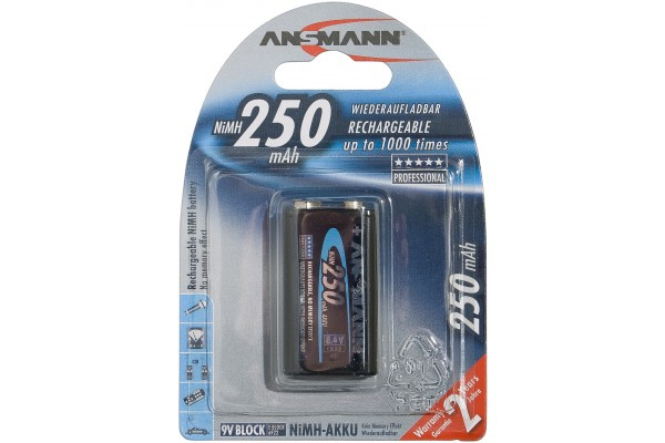 M958720-ANSMANN Batteries 5035453 HR22 / E blister de 1