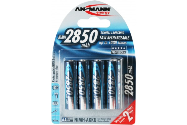 M959021-ANSMANN Batteries 5035092 HR6 / AA blister de 4