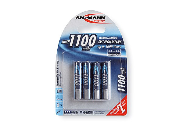 M959332                  -ANSMANN Batteries 5035232 HR03 / AAA blister de 4
