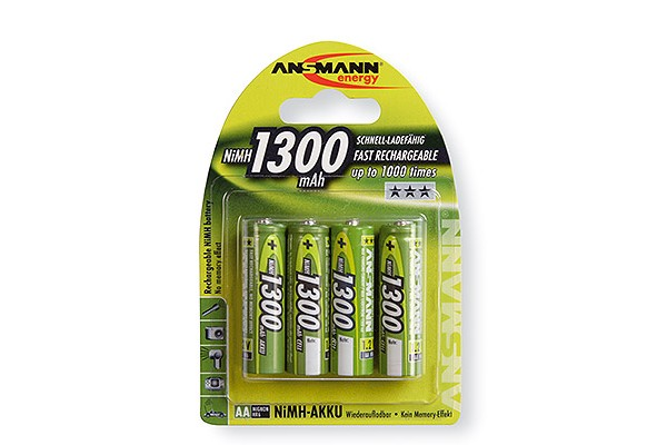 M959334                  -ANSMANN Batteries 5030792 HR6 / AA blister de 4