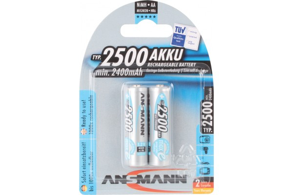 M959337-ANSMANN Batteries 5035432 HR6 / AA blister de 2
